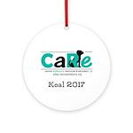 Custom Round Ornament For Koal