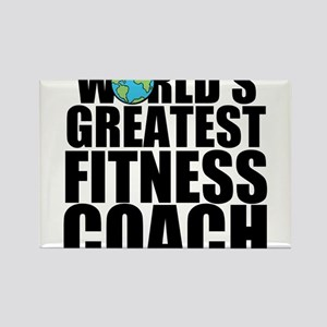 World's Greatest Fitness Coach Magnets