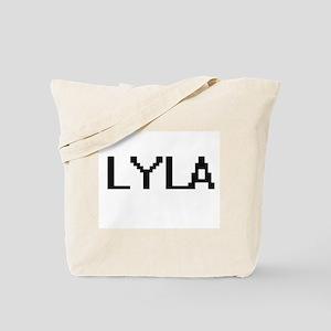 Lyla Digital Name Tote Bag