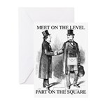 Meeting On the Level Greeting Cards (Pk of 20)