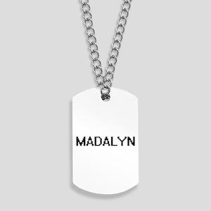 Madalyn Digital Name Dog Tags