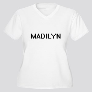 Madilyn Digital Name Plus Size T-Shirt