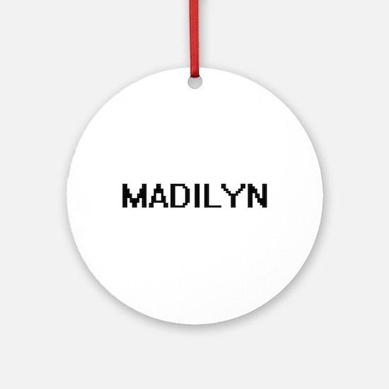 Madilyn Digital Name Ornament (Round)