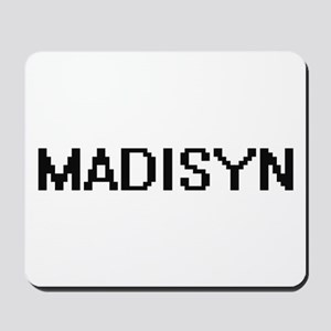 Madisyn Digital Name Mousepad