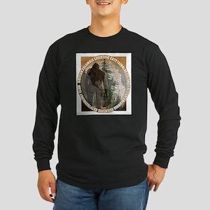 BCSCC Sasquatch Club Logo Long Sleeve T-Shirt