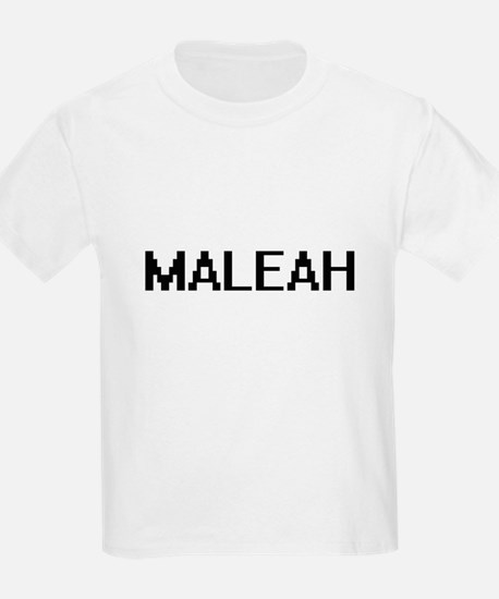 Maleah Digital Name T-Shirt
