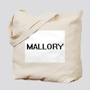 Mallory Digital Name Tote Bag