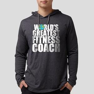 World's Greatest Fitness Coach Long Sleeve T-S