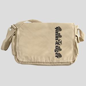 9mm Luger caliber Messenger Bag
