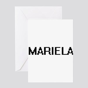 Mariela Digital Name Greeting Cards