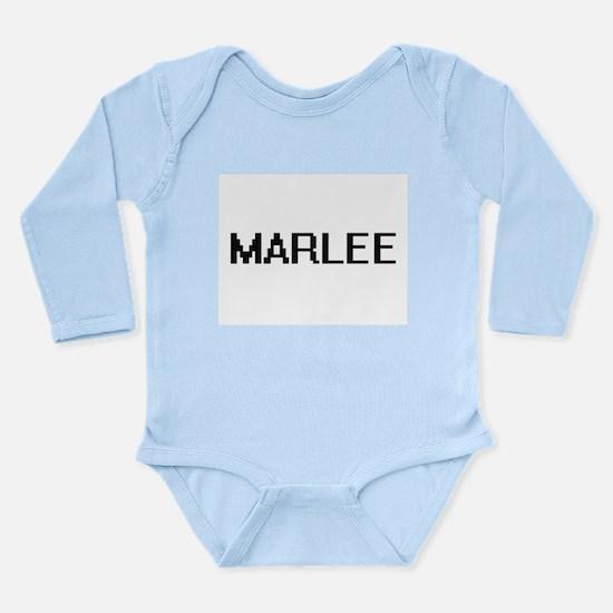 Marlee Digital Name Body Suit