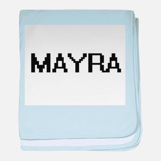 Mayra Digital Name baby blanket