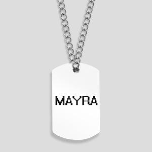 Mayra Digital Name Dog Tags