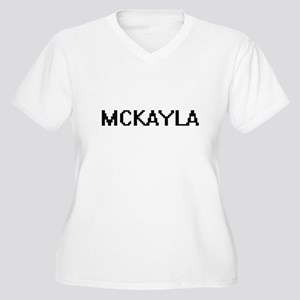 Mckayla Digital Name Plus Size T-Shirt