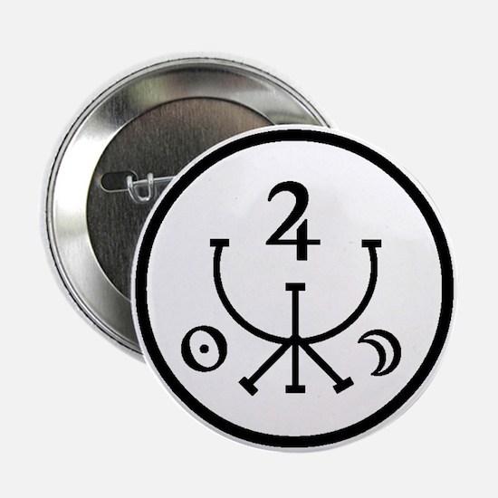 Money Attraction Sigil Magick Design Button
