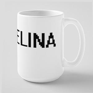 Melina Digital Name Mugs