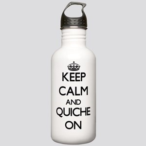 Keep Calm and Quiche O Stainless Water Bottle 1.0L
