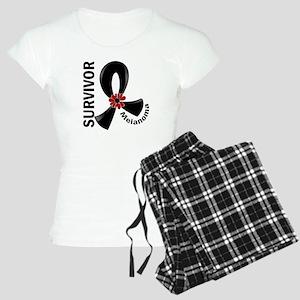 Melanoma Survivor 12 Women's Light Pajamas