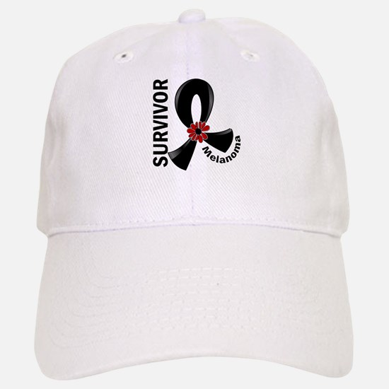 Melanoma Survivor 12 Baseball Baseball Cap