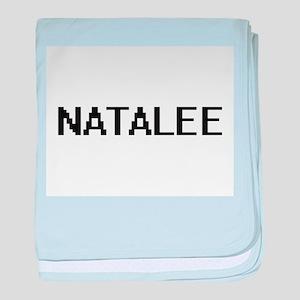 Natalee Digital Name baby blanket