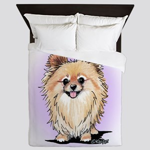 KiniArt Bella Pom Queen Duvet