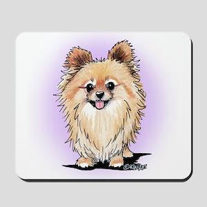 KiniArt Bella Pom Mousepad
