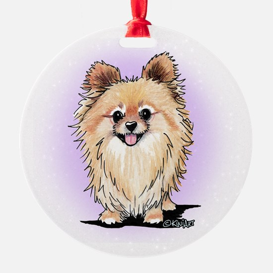 KiniArt Bella Pom Ornament