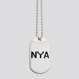 Nya Digital Name Dog Tags