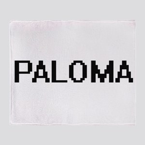 Paloma Digital Name Throw Blanket