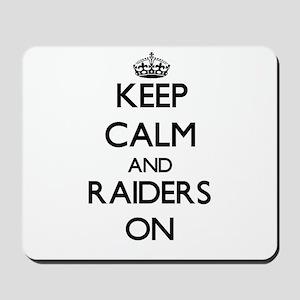 Keep Calm and Raiders ON Mousepad