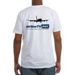 AirlineTV.net B720 Fitted T-Shirt