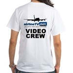AirlineTV.net White B720 T-Shirt