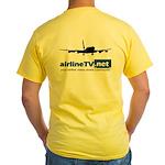 AirlineTV.net Yellow B720 T-Shirt
