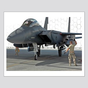 USAF F-15 Eagle (Small Poster)