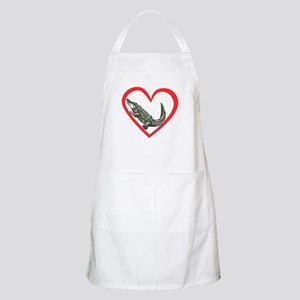 Alligator Heart BBQ Apron