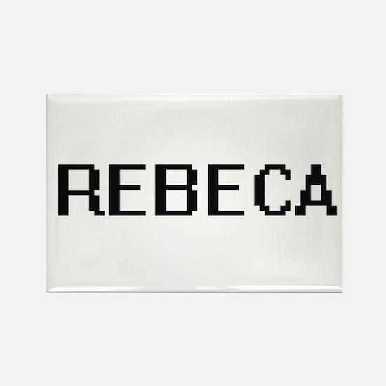 Rebeca Digital Name Magnets