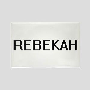 Rebekah Digital Name Magnets