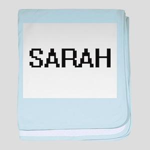 Sarah Digital Name baby blanket