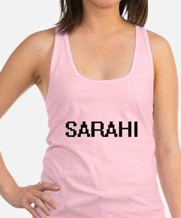 Sarahi Digital Name Racerback Tank Top