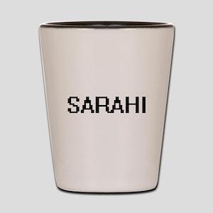 Sarahi Digital Name Shot Glass