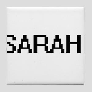 Sarahi Digital Name Tile Coaster
