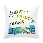 Lights Camera Music Dance Everyday Pillow