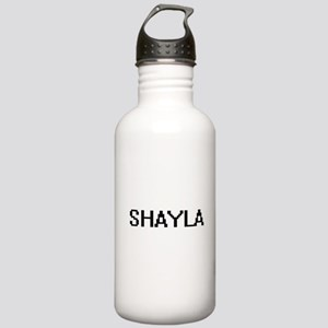 Shayla Digital Name Stainless Water Bottle 1.0L