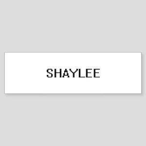 Shaylee Digital Name Bumper Sticker
