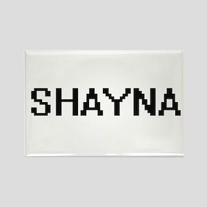 Shayna Digital Name Magnets
