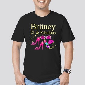 STYLISH 21ST Men's Fitted T-Shirt (dark)
