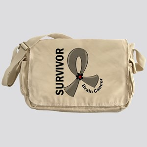 Brain Cancer Survivor 12 Messenger Bag