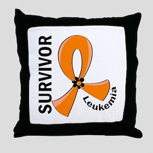 Leukemia Survivor 12 Throw Pillow