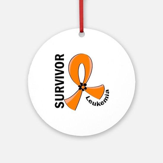 Leukemia Survivor 12 Ornament (Round)
