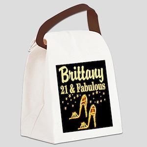 STYLISH 21ST Canvas Lunch Bag